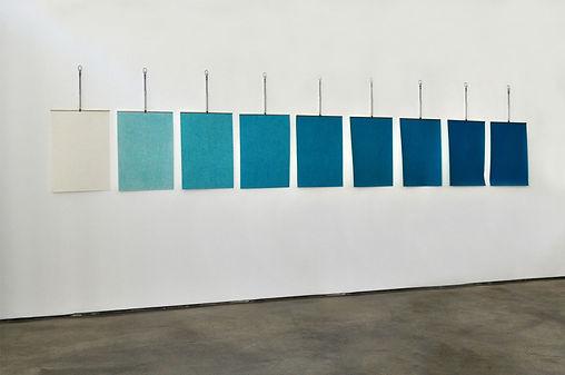 Le poids des couleurs, de 0 à 8 grammes (Vert de cobalt), Alban Denuit