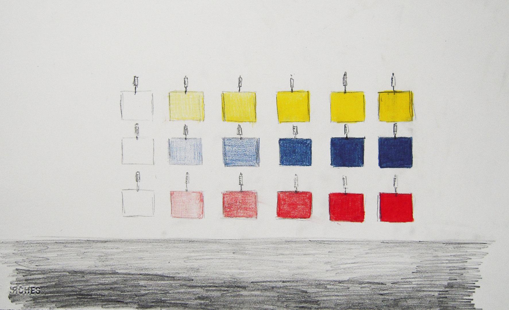 Le poids des couleurs