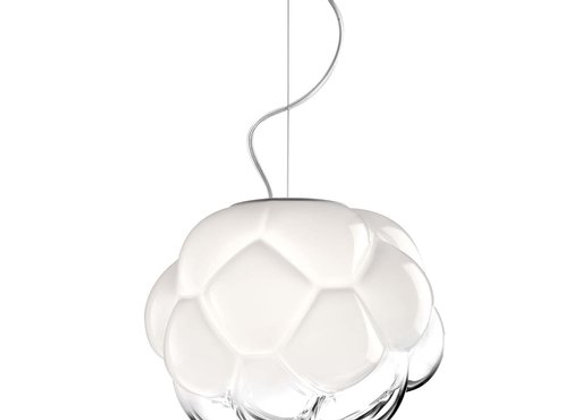 Cloudy Small Pendant Lamp by Fabbian
