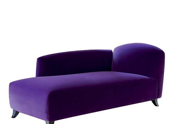 Tokyo Velvet Chaise Lounge Sofa by Bodema