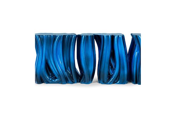 Monochrome (Aqua Blue) by Boca Do Lobo