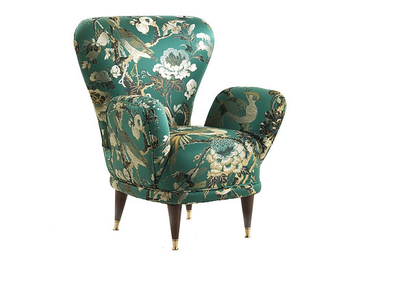 Pierina Upholstered Armchair by Fratelli Boffi