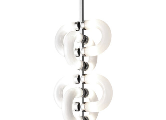 Chain Chrome Chandelier by Stillux
