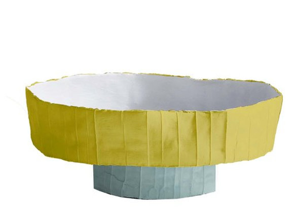 Ninfea Yellow & White Centerpiece by Paola Paronetto