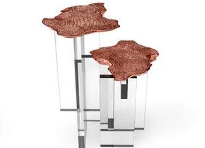 Monet Copper Side Table by Boca  Do Lobo