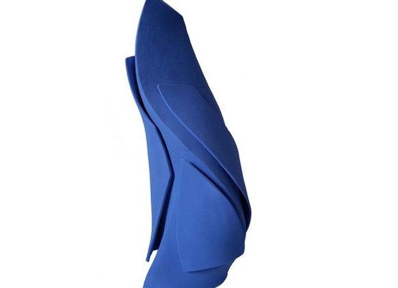 Blue Demeter Vase #6 Bottega Del Monaco
