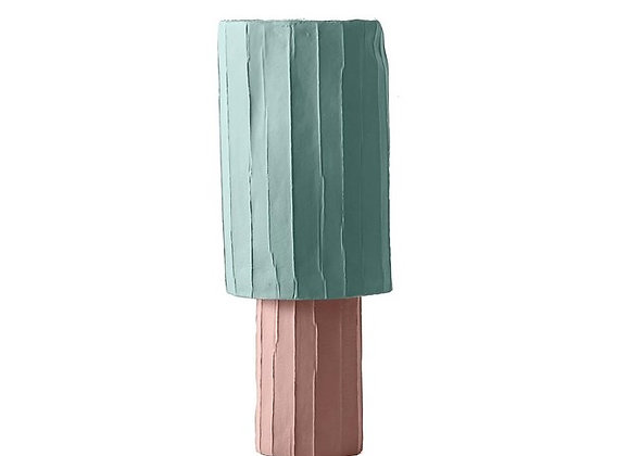 Ninfea Pink & Light Blue Centrepiece by Paola Paronetto