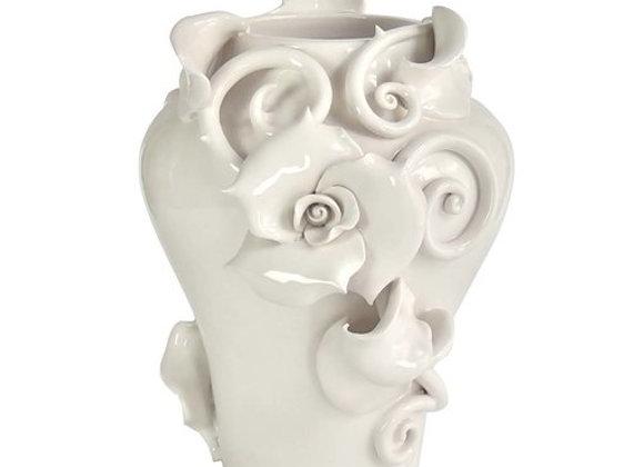 The White Rose The White Symphony by Alberto Giampieri