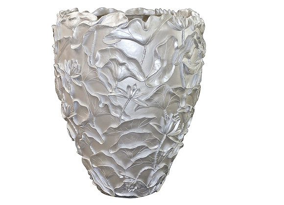 Lotus White Vase by VG NewTrend