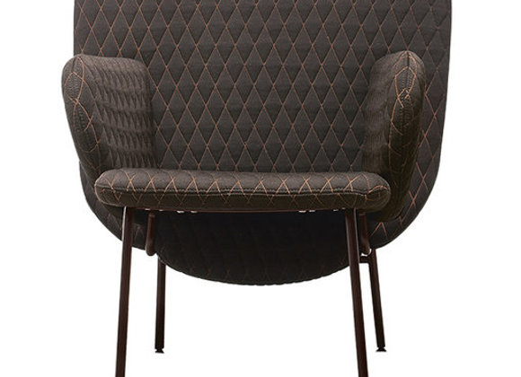 Ala Textured Armchair by La Cividina