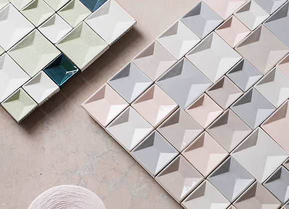 Perspectives Wall Tiles by Botteganove