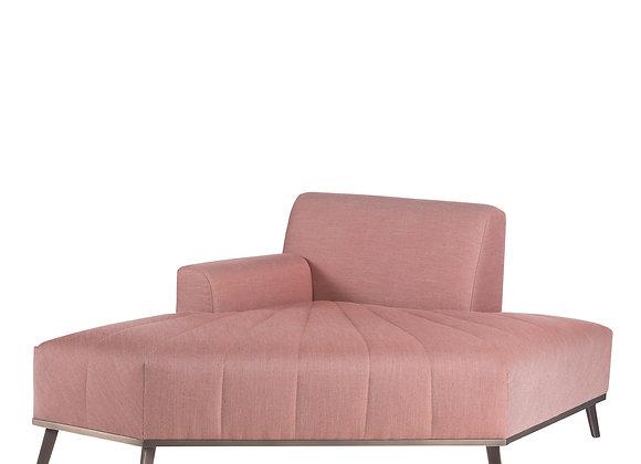 Expanding Pink Chaise by Zanaboni Edizioni