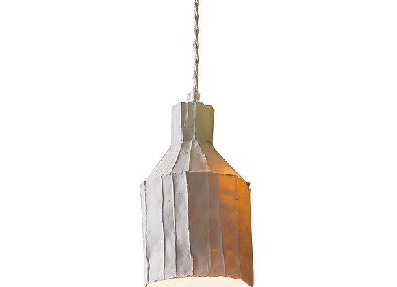 Sufi Light Grey Suspension Lamp by Paola Paronetto