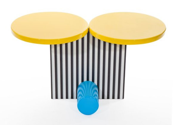 Polar Side Table by Michele De Luchhi by Memphis Milano