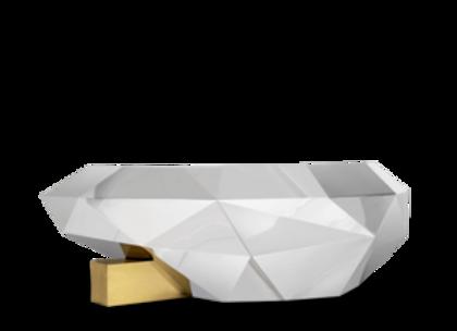 Diamond Center Table by Boca Do Lobo