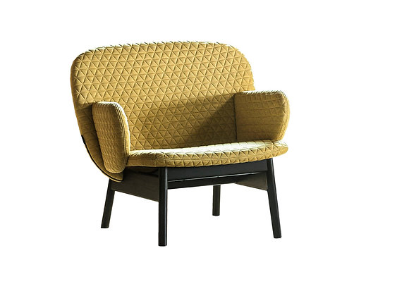 Ala Textured Armchair by La Cividina