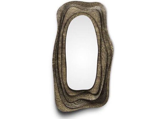 KUMI Wall Mirror by Brabbu