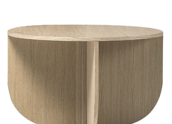 Mil Coffee Table in Durmast Wood by Buro Famous by La Cividina
