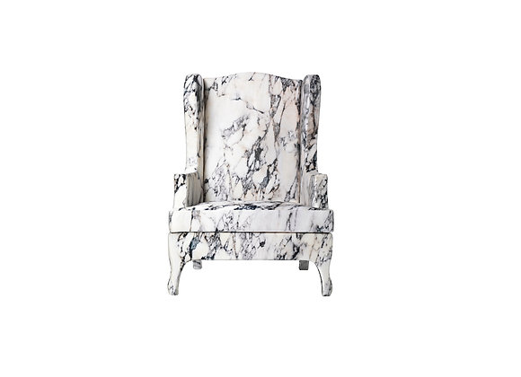 Louis XV Goes to Sparta Armchair by Balerie Italia
