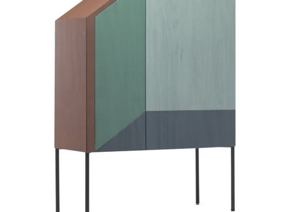 Ritratti Tall Cabinet by Mogg