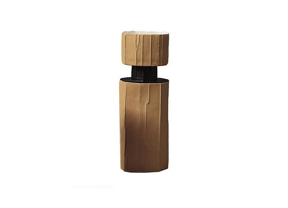 Safe Etero Beige Vase by Paola Paronetto