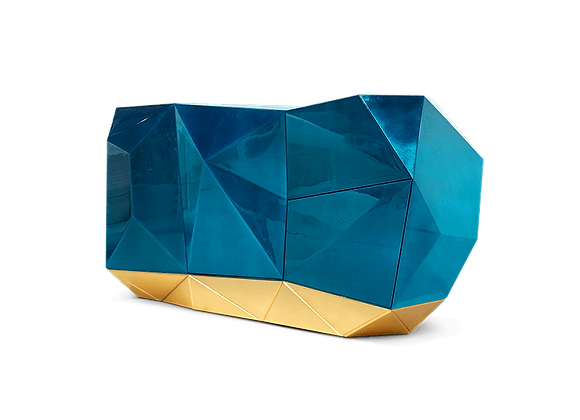 Diamond Blue Sideboard by Boca Do Lobo
