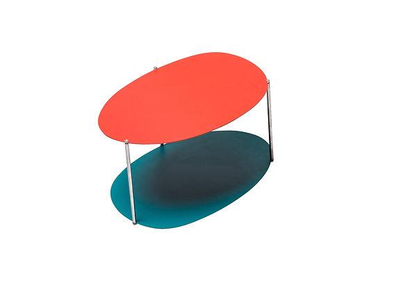 Picos Orange Green Medium Coffee Table by Balerie Italia