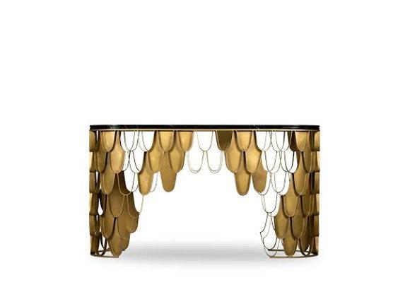 KOI Brass Console by Brabbu