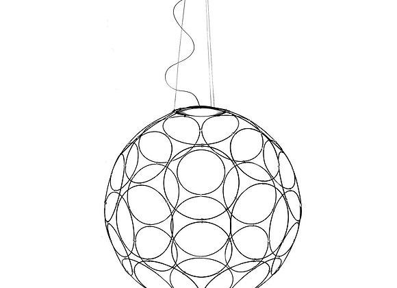 Giro Anthracite Pendant Lamp by Fabbian
