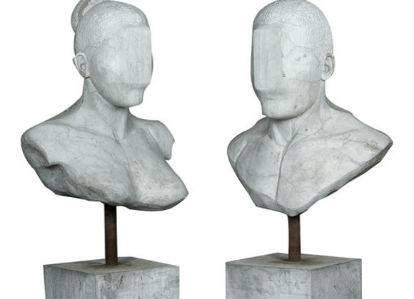 New Race Sculpture by Federico Clapis