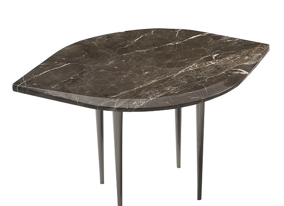 Chio Coffee Table in Brown Marble by Bodema