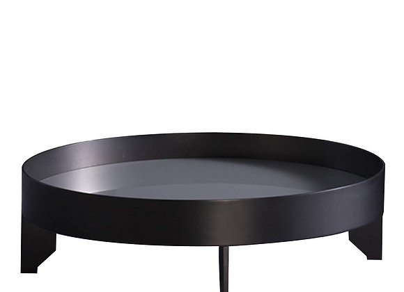 Silver RoundAccent Table by Bodema
