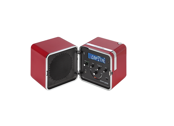Radio.cubo 50 Red by Brionvega
