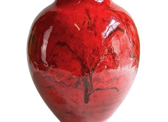 Gran Rosso Vase by Alberto Giampieri