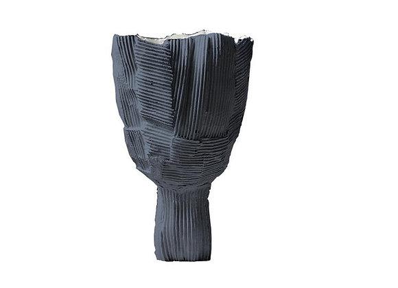 Cartocci Tulipano Black Footed Bowl by Paolo Paronetto