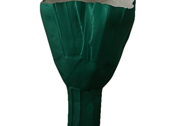 Cartocci Coteccia Tulip Teal Bowl by Paola Paronetto
