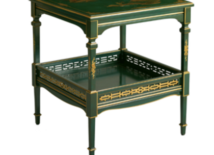 Green Side Table by Zanaboni