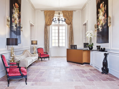 Brabbu's furniture adds glamour to Château de Drudas: The Incredible Hotel