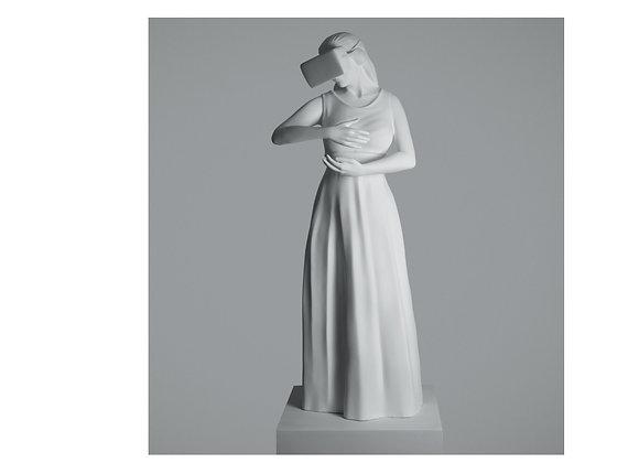 Addolorato Concezione Sculpture by Federico Clapis