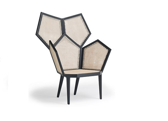 Lui 5/A White Armchair by Fratelli Boffi