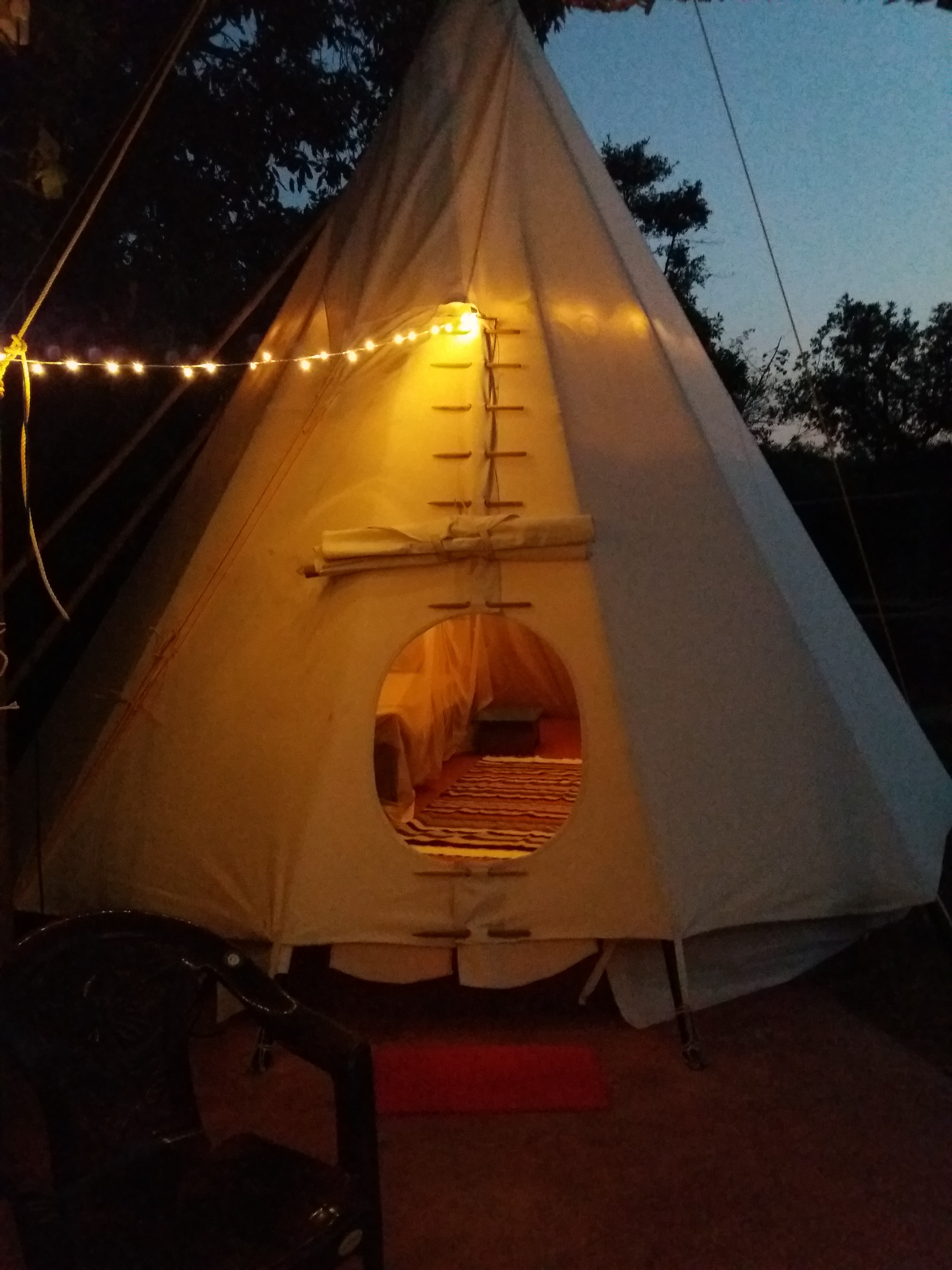 Luxury Tipi