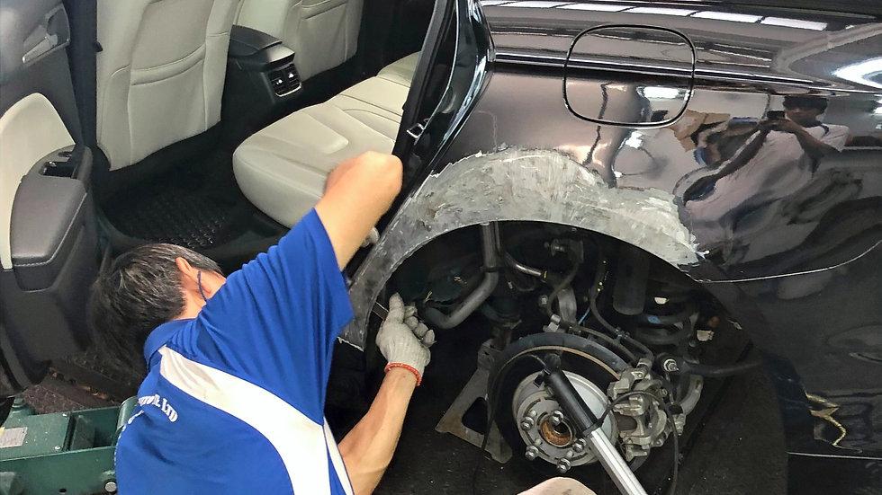 Panel beating & Dent repair