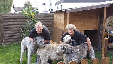 Giant Guardian's Irish Wolfhounds Nathaniel