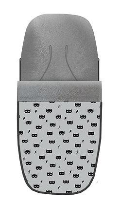 Saco máscara gris