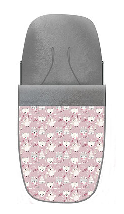 Saco mapache rosa polvo