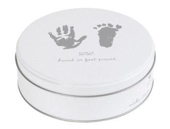 Foot/hand print Grey