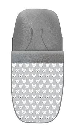 Saco gato gris