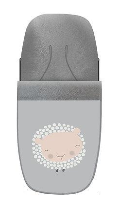 Saco oveja gris