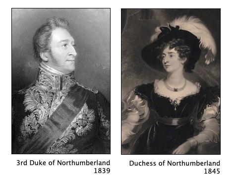 The Duke and Duchess of Northumberland.p