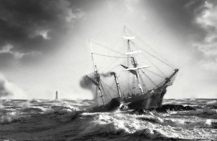 Forfarshire wrecks on Hacar Rock.jpg